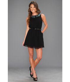 BCBGeneration Scallop Collar Dress
