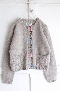 Knitting For Kids, Baby Knitting, Crochet Cardigan, Knit Crochet, Wedding Cardigan, Loose Sweater, Sweater Fashion, Knitwear, Knitting Patterns