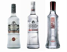 If you finish a bottle of vodka, the empty bottle should always be placed on the ground. Russians believe that placing an empty bottle back on the table causes bad luck.
