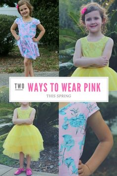 Two Ways to Wear Pink this Spring   Kids Spring Fashion   Kids Fashion Trends   MomTrends.com