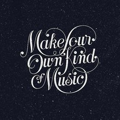 """""""Make Your Own Kind of Music - dark"""" Art Prints by thetrufflepig 