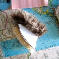 Faux Fur Animal Ears: 16 Steps (with Pictures) Squirrel Costume, Wolf Ears, Kids Winter Fashion, Animal Hats, Diy Costumes, Costume Ideas, Halloween Fun, Faux Fur, Cosplay