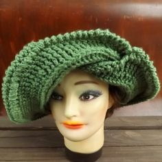 Crochet Womens Hat Patterns - Crochet Brim Hat Pattern Women - Crochet Hat Pattern for the FRONTIER SUN Hat by strawberrycouture
