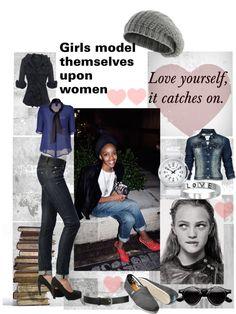 """Girls Model Themselves on You"" by jenniferleeusa on #Polyvore #feminism"