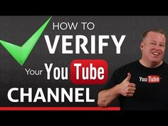 How to Verify Your YouTube Account - 2014 - YouTube Derral Eves shows how to verify your YouTube Account so you can upload videos longer than 15 minutes, use services like YouTube Live, hangout on air, have the ability to appeal content ID disputes, and customize your thumbnail. #YouTubeTraining #YouTubeTips