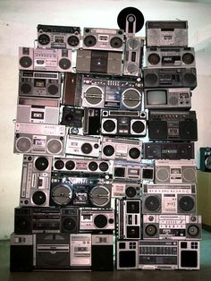 Wall of Sound (Boomboxes)