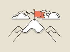 Top of the world! by Oliver Sin Instagram Highlight Icons, Top Of The World, Natural World, Line Art, Badge, Illustration Art, Doodles, Kawaii, Concept