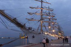 Hanse Sail Rostock in Warnemünde.