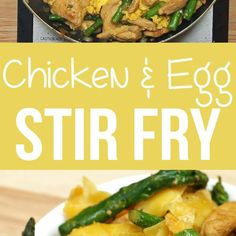 This Easy Chicken And Egg Stir Fry Is The Way To Go For A Weeknight Dinner