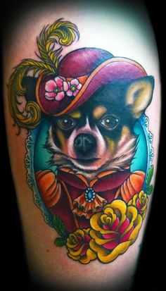 Victorian Pet Portrait - I would get one of my Ruckus