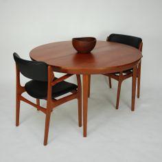 ClassicModern.pl » Okrągły stół tekowy DANISH MODERN id 180314