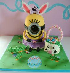 Easter bunny minion: Cake-Um-Licious, facebook