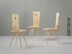 Nice - 'brauchtum', 2012 by rolf sach in 'typisch deutsch?' exhibition at MAKK | Check out more ideas for chairs at DECOPINS.COM | #chairs #chair #masterbathrooms #bedroom #bedrooms #bathroom #bathrooms #homedecor #beds #interiordesign #home #homedecoration #design