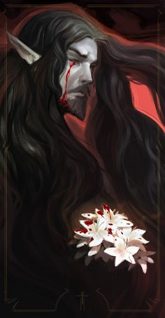 Beautiful Science Fiction, Fantasy and Horror art from all over the world. Castlevania Dracula, Alucard Castlevania, Castlevania Netflix, Castlevania Wallpaper, Wicca, Werewolf Hunter, Bleach Fanart, Vampire Art, Dark Fantasy Art