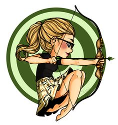 Felicity smoak - green arrow - cw - fan art - bow - felicity, where is my bow ? Arrow Dc, Team Arrow, Flash Arrow, Arrow Cast, Arrow Felicity, Felicity Smoak, Lord Mesa Art, Chibi, Dc Tv Shows