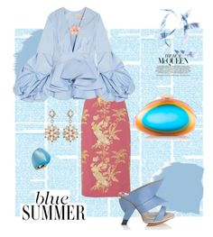 """Opal"" by scope-stilettos ❤ liked on Polyvore featuring Erdem, Abcense, Johanna Ortiz, Benedetta Bruzziches, Sutra Jewels, Alexis Bittar and Stephen Webster"