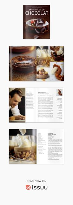 Encyclopedie Du Chocolat Frederic Bau Pastry Recipes, Chef Recipes, Dessert Recipes, Cooking Recipes, French Chocolate, Chocolate Desserts, Cake Recept, Kinds Of Desserts, French Pastries