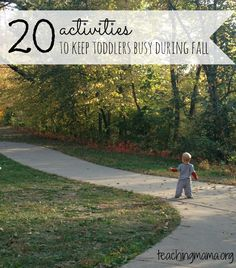 20 Activities to Keep Toddlers Busy During Fall (& MEGA Cash Giveaway!!)