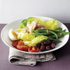 Our tasty version of a classic Nicoise salad can also be turned into a sandwich.