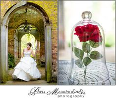 Princess Inspiration Shoot | Disney Princess Bride | Cinderella, Snow White, Ariel ~ Paris Mountain Photography Blog