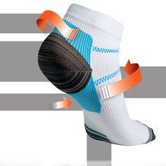 Foot Compression Socks For Plantar Fasciitis, Heel Spurs Foot Pain