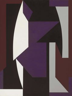 'Kirakoum' (1958) by Victor Vasarely.  INIGOSCOUT.com, blankets, abstract art, craft, cabins, ski chalet, freedom
