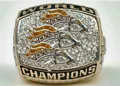 The Denver Broncos are Super Bowl 50 Champions and you know what that means. Brand new rings for the boys!