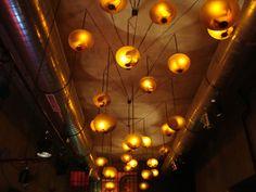 ceiling in nightclub Ötkert, Budapest