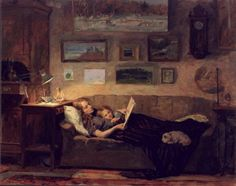 Alexander Kopeyko.  I'd like to see a better composition, but love the feel of the pair on the sofa in the light.
