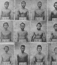 Roster of 'new arrivals' in Port Natal, in the British colony of Natal. Indentured Indian labourers began arriving in 1860, and were identified only by number. Photo courtesy of The Indian in Drum Magazine in the 1950s,