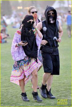 Vanessa Hudgens & Austin Butler Get Wrapped Up at Coachella!