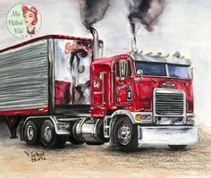 Truck Art, Trucks, Vehicles, Truck, Vehicle, Cars
