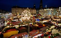 The Striezelmarkt Christmas market in Dresden is an ancient institution that dates back to 1434. Its name derives from Hefestriezel, a sweet delicacy now known as Dresden Christstollen (Christmas cake). This fruity nutty delight remains a culinary speciality worth sampling at the market. Visit November 26-December 24 (germany-christmas-market.org.uk).