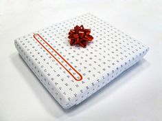 universal wrapping paper - just circle the occasion!