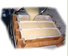 Very detailed instructions on how to make soap - some things I failed to do on my first attempt and needed to know! Soap Making Recipes, Homemade Soap Recipes, Savon Soap, Soap Making Supplies, Lotion Bars, Homemade Beauty Products, Milk Soap, Handmade Soaps, Diy Soaps