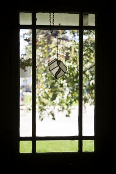 This would be perfect in the kitchen window! Window Ledge, Stained Glass Suncatchers, Milk Glass, Blue Grey, Im Not Perfect, Creative, Kitchen, Etsy, Instagram