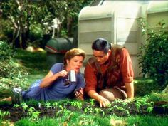 Janeway and Chakotay.....I seriously hoped they ended up together
