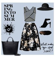 Designer Clothes, Shoes & Bags for Women Karl Lagerfeld, High Waisted Skirt, Alice Olivia, Polyvore, How To Make, Stuff To Buy, Inspiration, Shopping, Collection