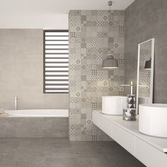 """""""If you're looking for grey wall tiles visit Direct Tile Warehouse. Top quality grey kitchen tiles or bathroom tiles at the lowest price Hanger grey wall tiles are a beautiful choice for grey kitchen tiles or for stylish grey bathrooms. These mosaic grey tiles co-ordinate beautifully with the dark and light grey wall tiles."""""""