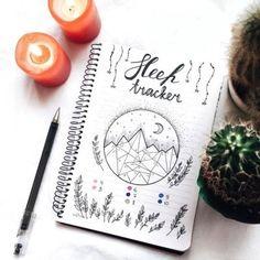 bullet journal sleep tracker | Tumblr
