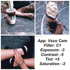 This is PART 2 of the Best Instagram VSCO filter Hacks There are too many cool instagram VSCO filter hacks posted here that I had to separate it into 3 posts so everything loads fast! I know a lot of you are instagrammers who are obsessed in obtaining that perfect ig filter or perfect grid *just like I am* *guilty as charged* so… I found these photos over at facebook courtesy of @filtertime and decided to upload it here for everyone to share and enjoy! Part 1: 84 of the Best Instagram VSCO…