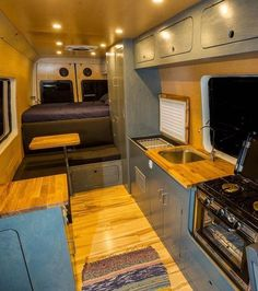 Everything you need and nothing you don't // Take a look inside our long wheel base van.. what more could you need?!