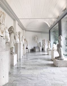 Sculptures made by Swedish sculptor Carl Milles. Photo by Therese Sennerholt.