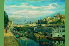 The Bridge of Louis Philippe 1875 I, by Jean-Baptiste-Armand Guillaumin