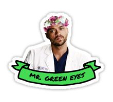i thought he had blue eyes but okay. green works too????