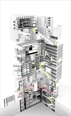 / #diagram #graphic #architecture #illustration #drawing #render