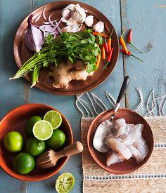 Australian Gourmet Traveller recipe for ceviche classico with leche de tigre.