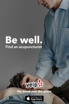 Whether you're looking for an acupuncturist, masseuse, or whatever else has you feeling like a new you, Yelp has tons of great suggestions that are reviewed by millions of users. Get the App and start searching.