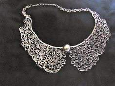 #glamour, Necklace, Pearl Collar Necklace, Pearl Necklace