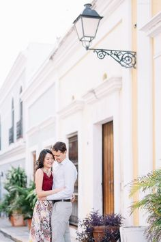 Romantic Engagement Session Old San Juan, Puerto Rico